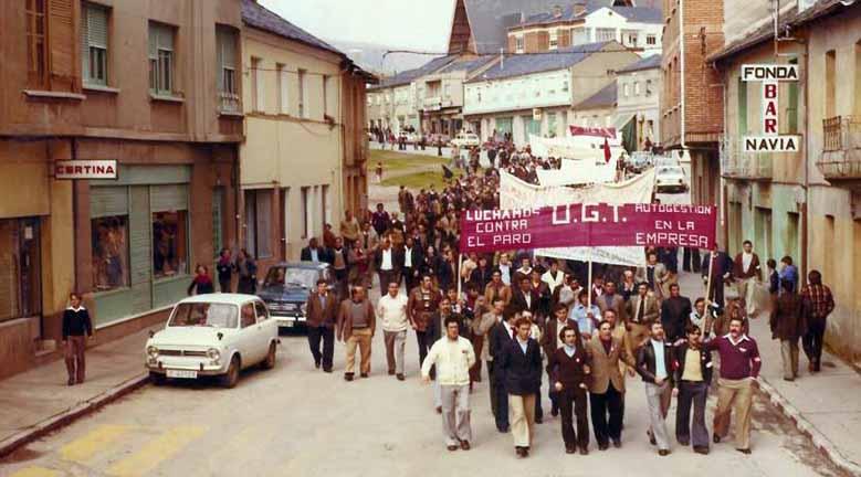 Fabero capital del movimiento obrero, de campo de concentración a «estufa de España».