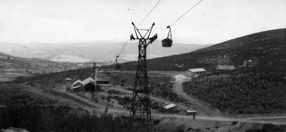 Cables y baldes, los tranvías aéreos de Laciana y el Bierzo