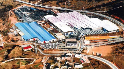 El Bierzo, pionero del acero inoxidable en España.